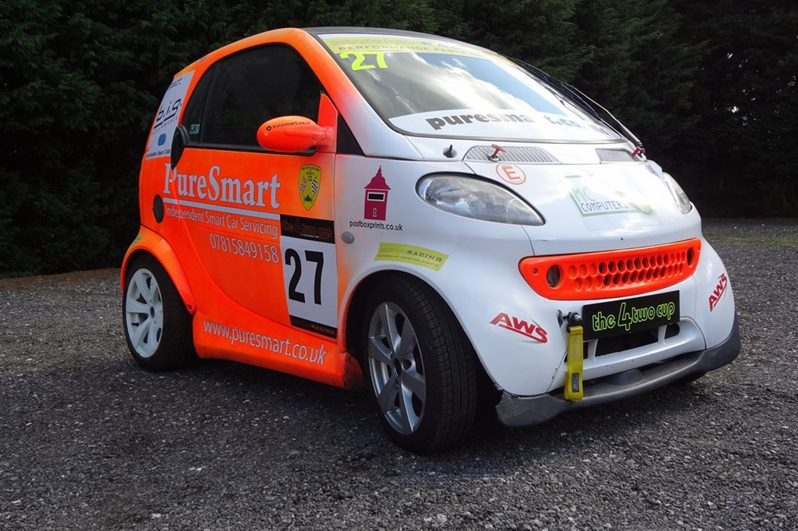 Smart Car Fortwo Race Cartrack Day