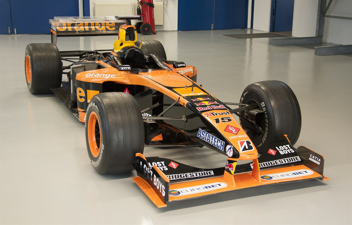 Racecarsdirect Com Arrows A22 03