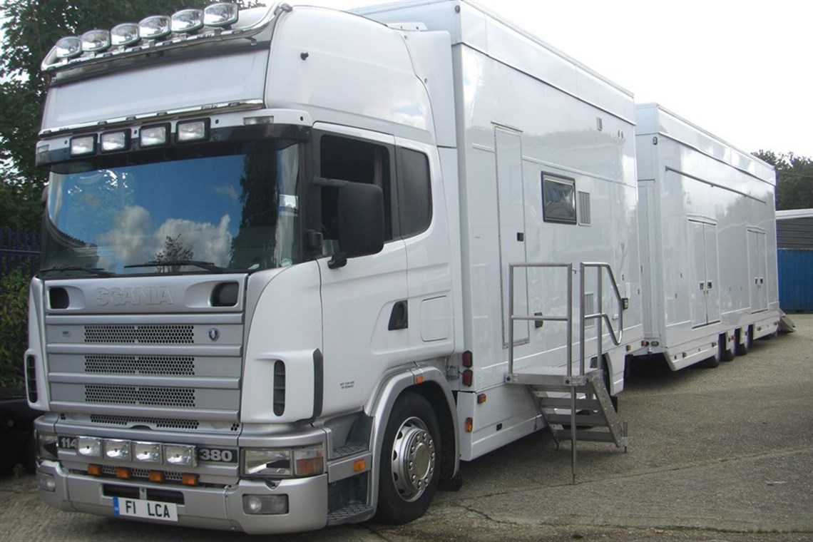 Classic Race Car Transporter For Sale