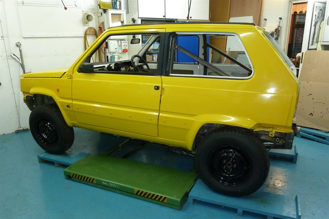 modified rides a poke swapped fire larger punto engine thread tires greenlaner enough fiat for even retro stock with sisley sale provides the panda classic