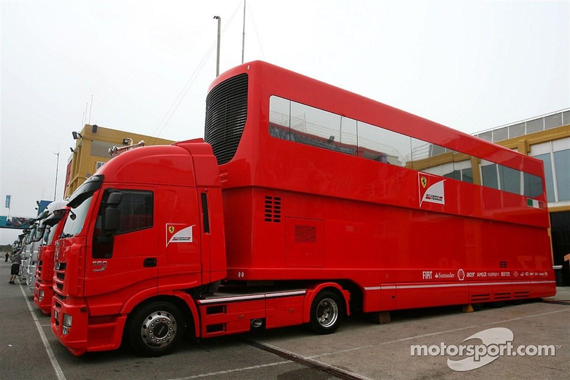 Racecarsdirect.com - SOLD: Used Trailer / Hospitality Ex Ferrari ...