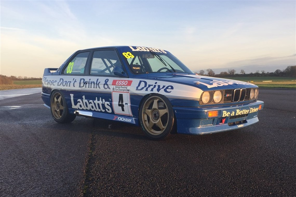 racecarsdirect - 1991 bmw e30 m3 btcc ex tim harvey