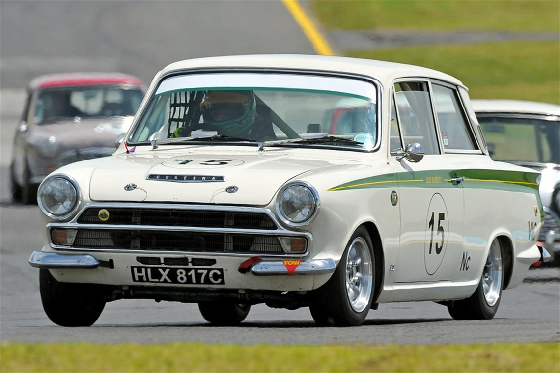 Racecarsdirect.com - Genuine Lotus Cortina Historic Race Car