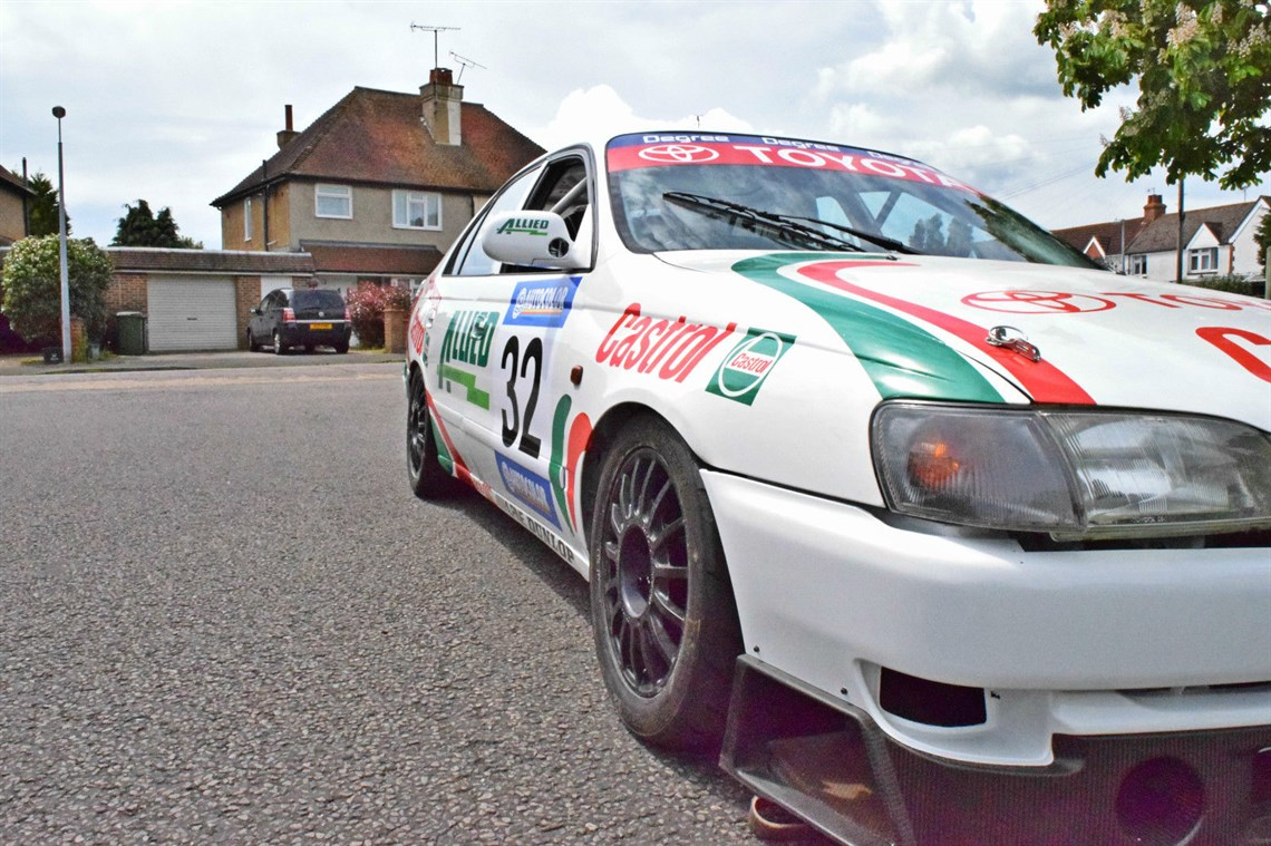 Racecarsdirect castrol toyota carina nz touring car ex works castrol toyota carina nz touring car ex works publicscrutiny Image collections