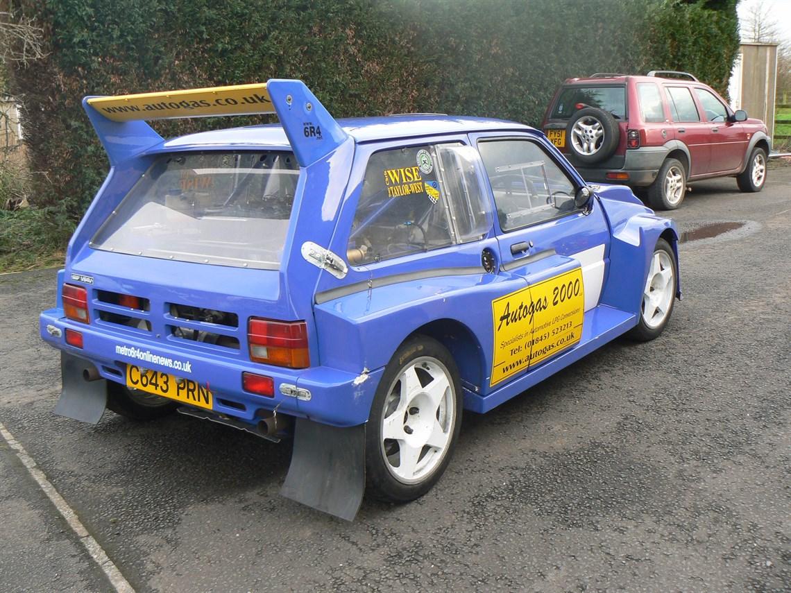 Racecarsdirect.com - MG Metro 6R4 Rally car