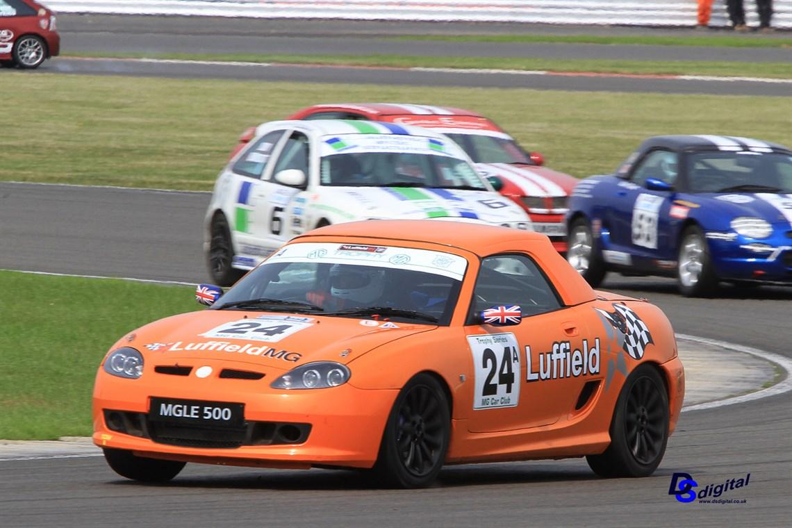 Racecarsdirect Com Mg Tf Trophy Race Car