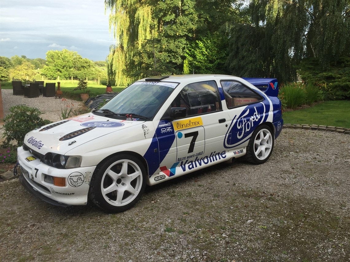 Ford escort cosworth 2wd or 4wd
