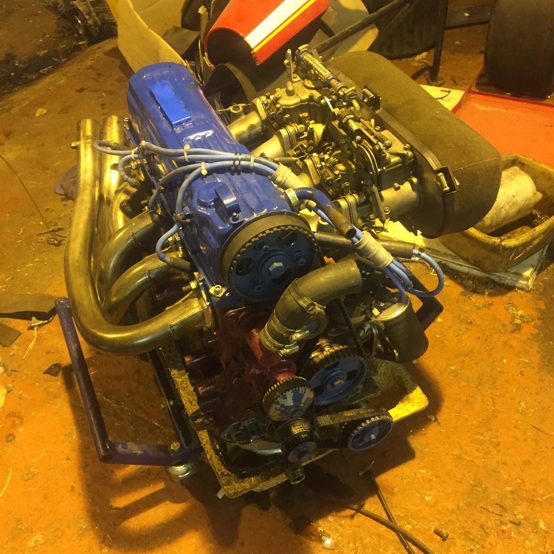 Racecarsdirect com - Dry sump FORD PINTO race/hillclimb engine