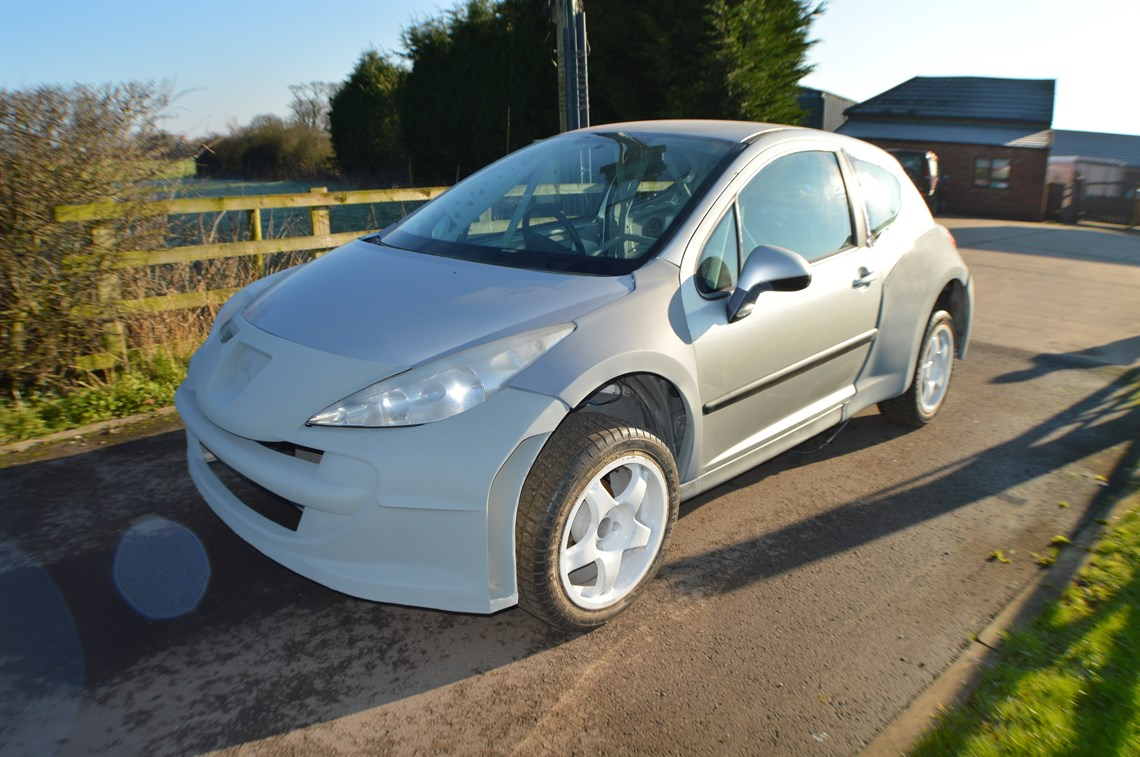 Racecarsdirect.com - Peugeot 207 rally race car S2000 WRC project