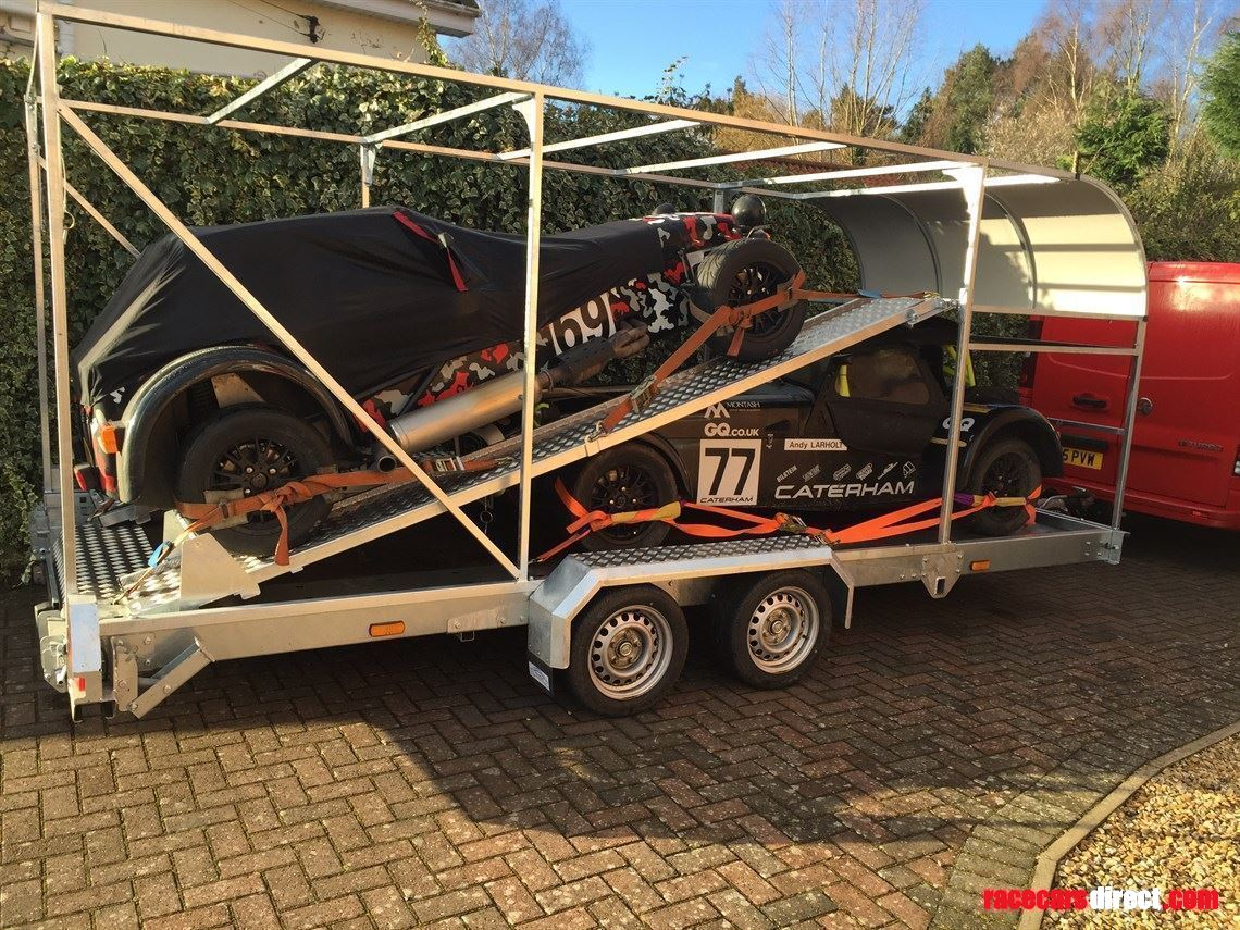 Racecarsdirect.com - GTX3 Two Car Trailer