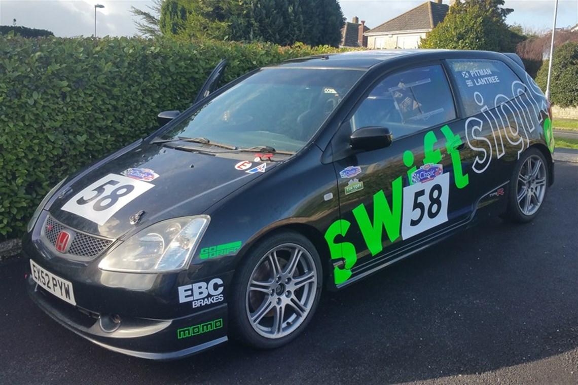 Civic race car for sale