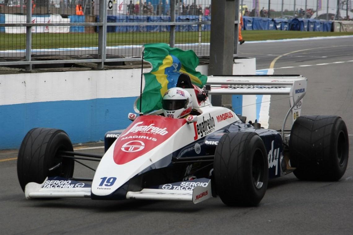 Racecarsdirect.com - Historic Formula 1 cars at Donington Historic