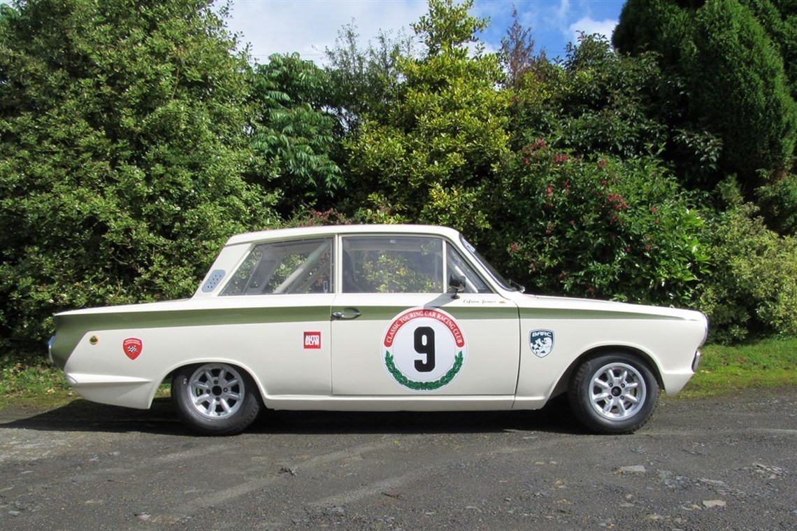 Racecarsdirect.com - Mk1 Lotus Cortina FIA Appendix K Race Car