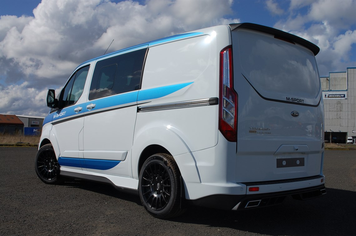 m sport transit custom crew van. Black Bedroom Furniture Sets. Home Design Ideas