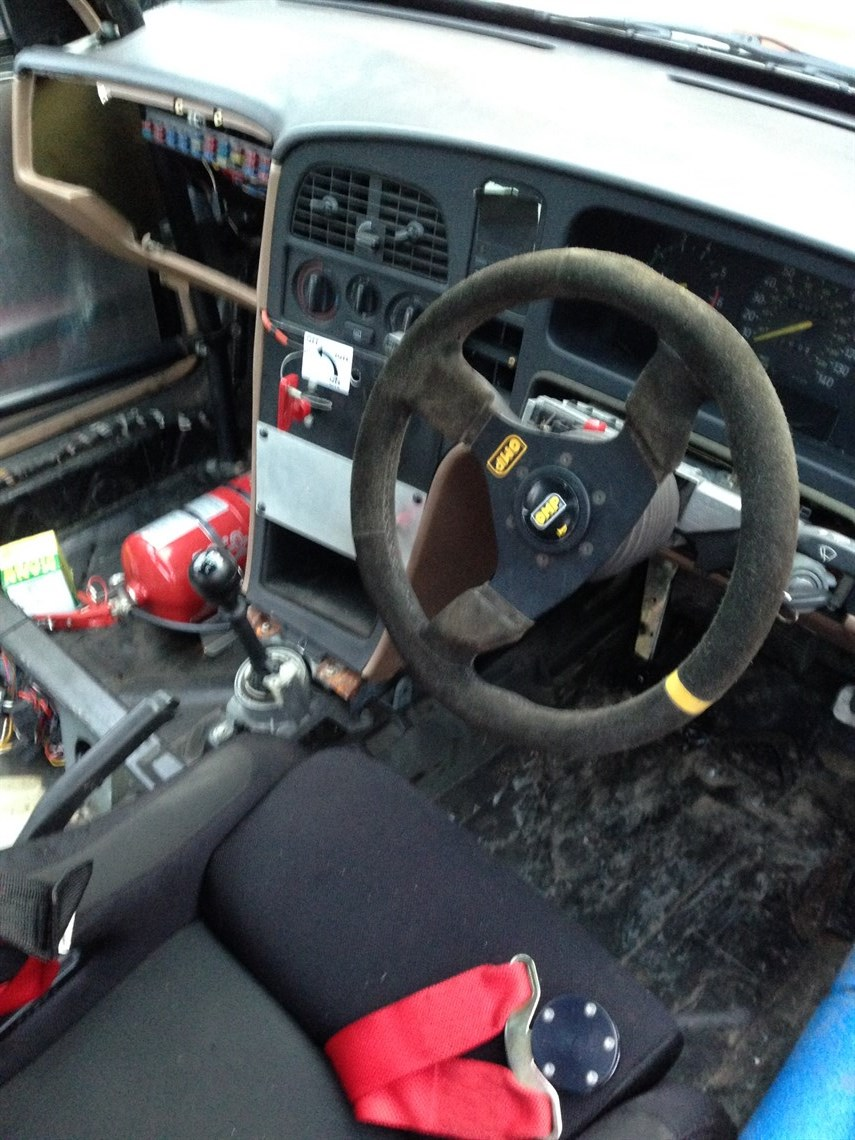 Racecarsdirect com - Pre 93 classic touring car SAAB 9000