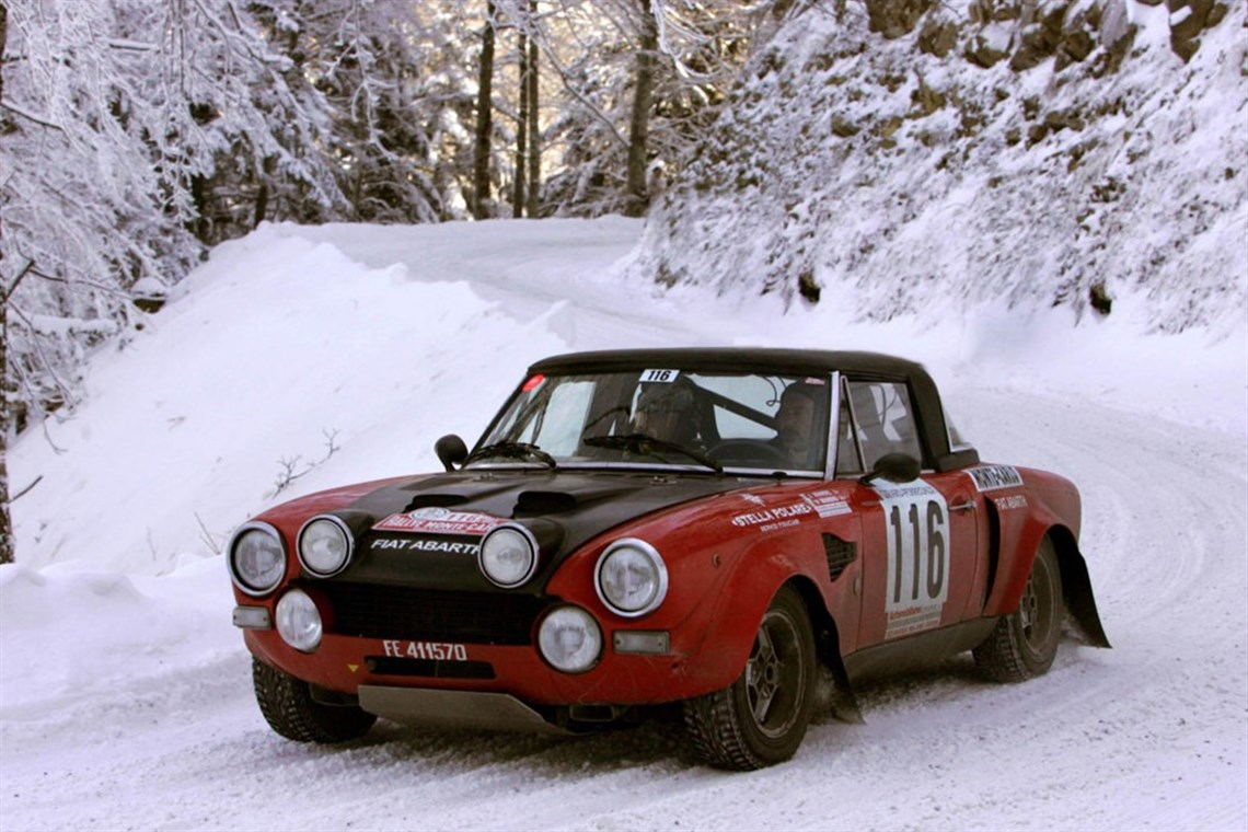 Racecarsdirect Com Fiat 124 Abarth Rally Gr 4 Fia
