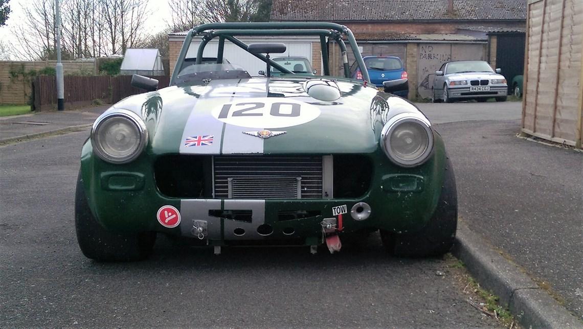 Midget race car parts