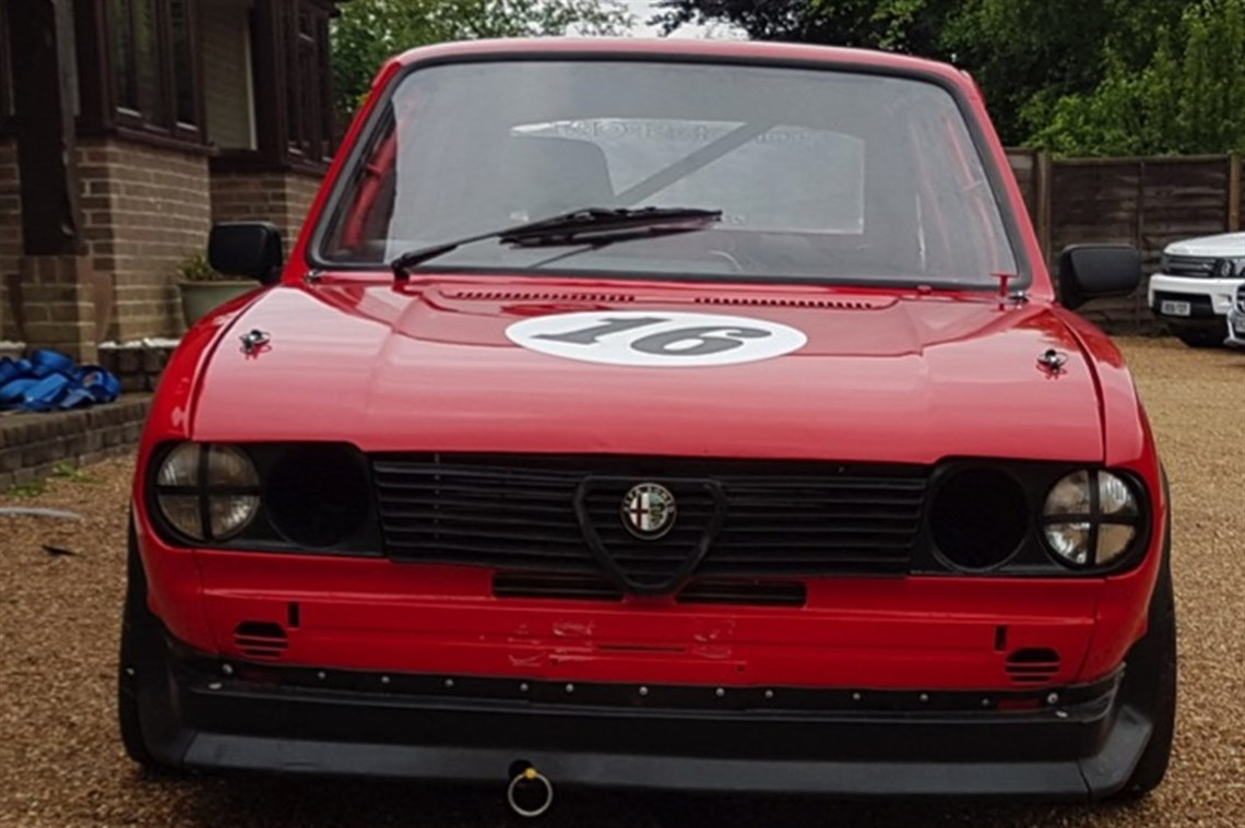 Racecarsdirectcom Alfa Romeo Alfasud Race Car Will Be Auctioned - Alfa romeo alfasud for sale