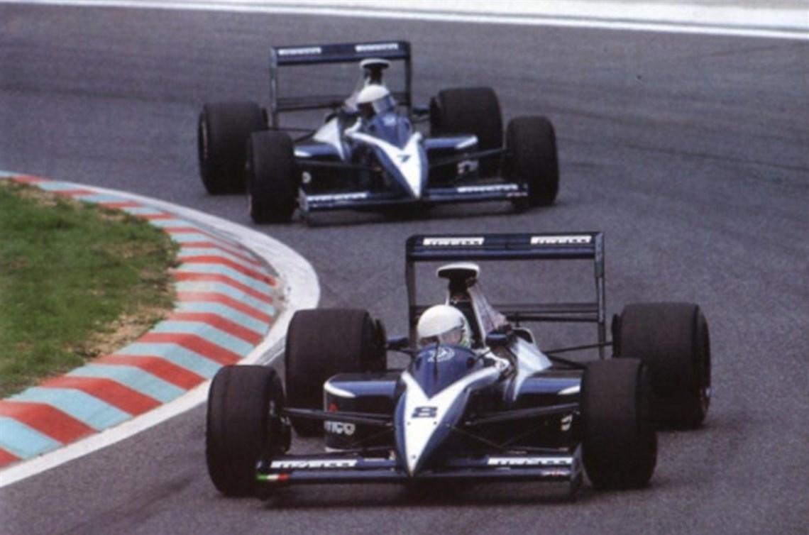Racecarsdirect.com - 1990 Brabham BT59-05 Judd V8 F1 Car