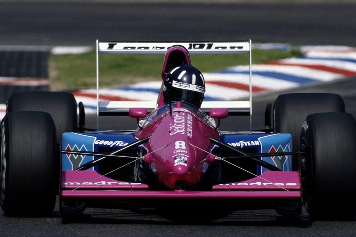Racecarsdirect.com - 1991 Brabham BT60 Judd V10 F1 Car