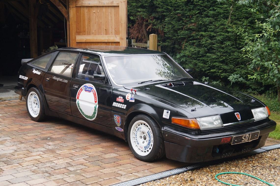 Racecarsdirect.com - Rover SD1 V8 Race Car - Genuine \