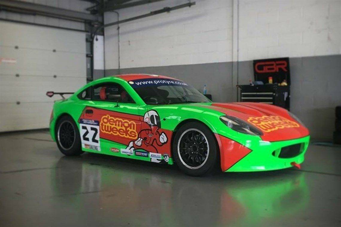 Racecarsdirect Com Ginetta G40 Race Winning Car
