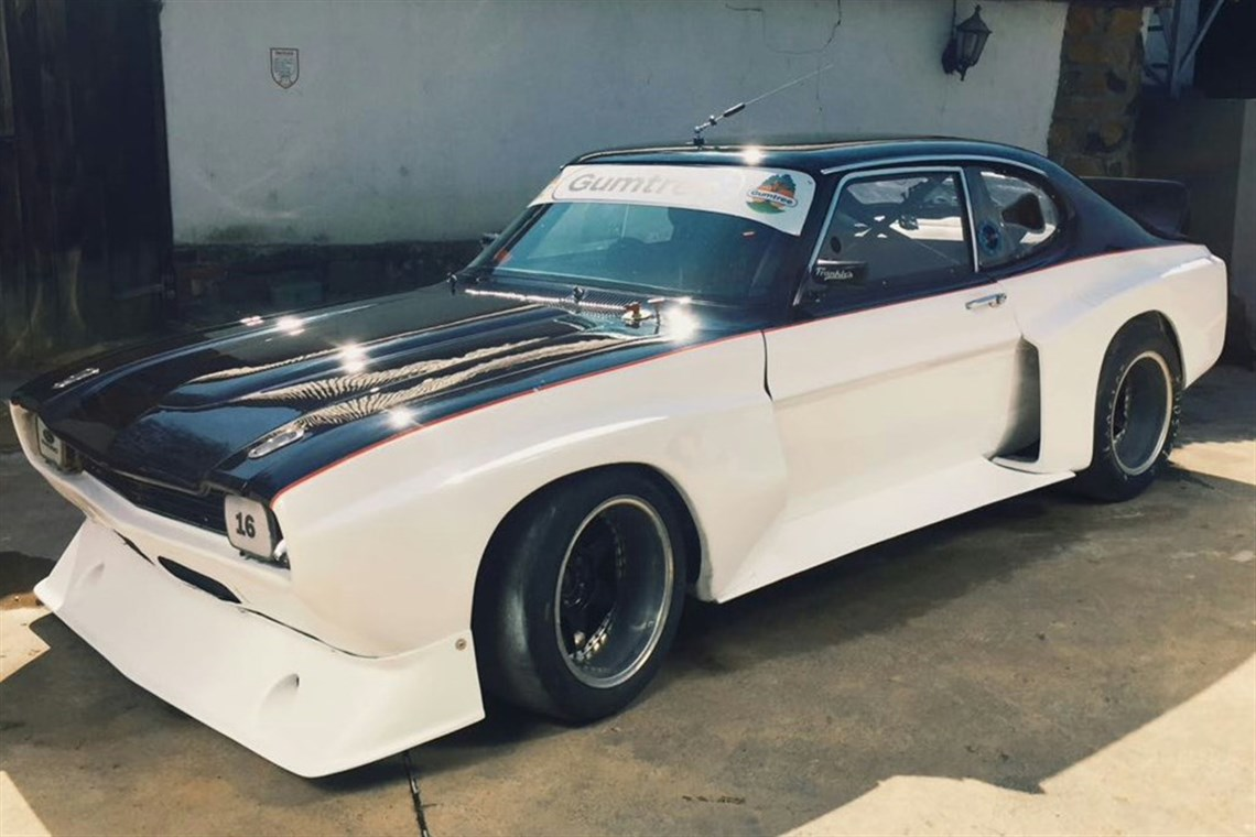 Racecarsdirect Com 1972 Group 5 Ford Capri V8