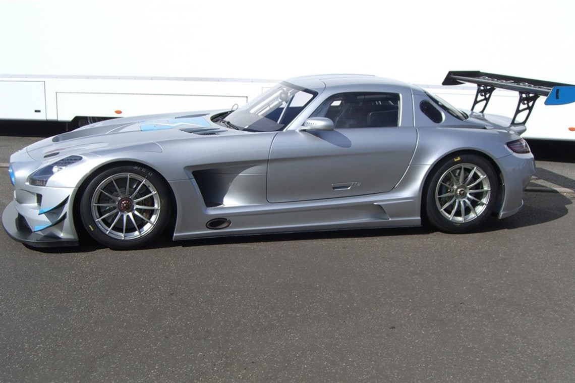 Mercedes benz sls amg gt3 for Mercedes benz gt3