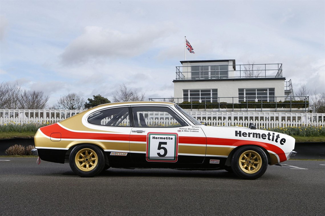 Racecarsdirect com - Group One Capri with FIA HTP papers