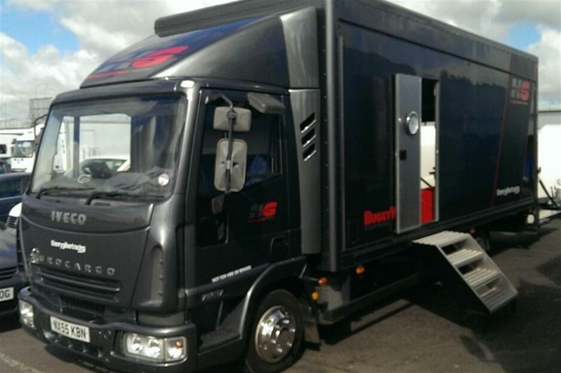 Racecarsdirect Com Iveco Eurocargo 7 5t Race Car Transporter