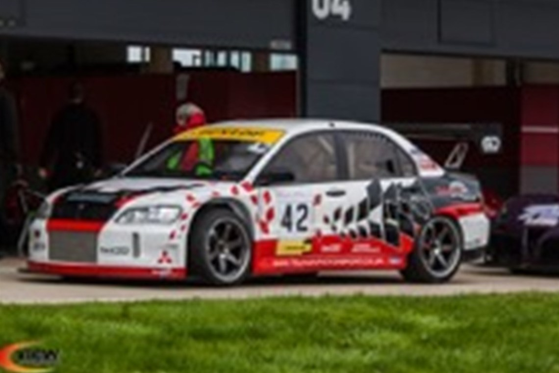 Racecarsdirect.com - Mitsubishi Lancer Evolution 9 GT - Reduced by ...
