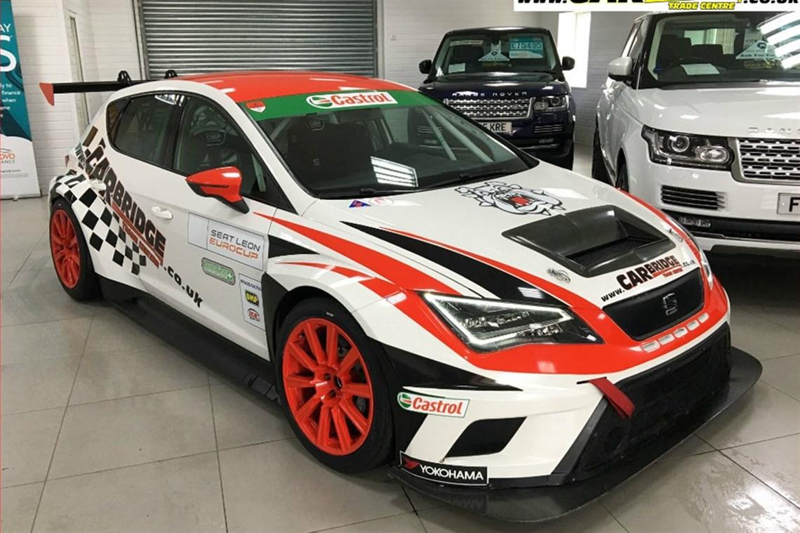 2017 Seat Leon Eurocup Factory Race Car