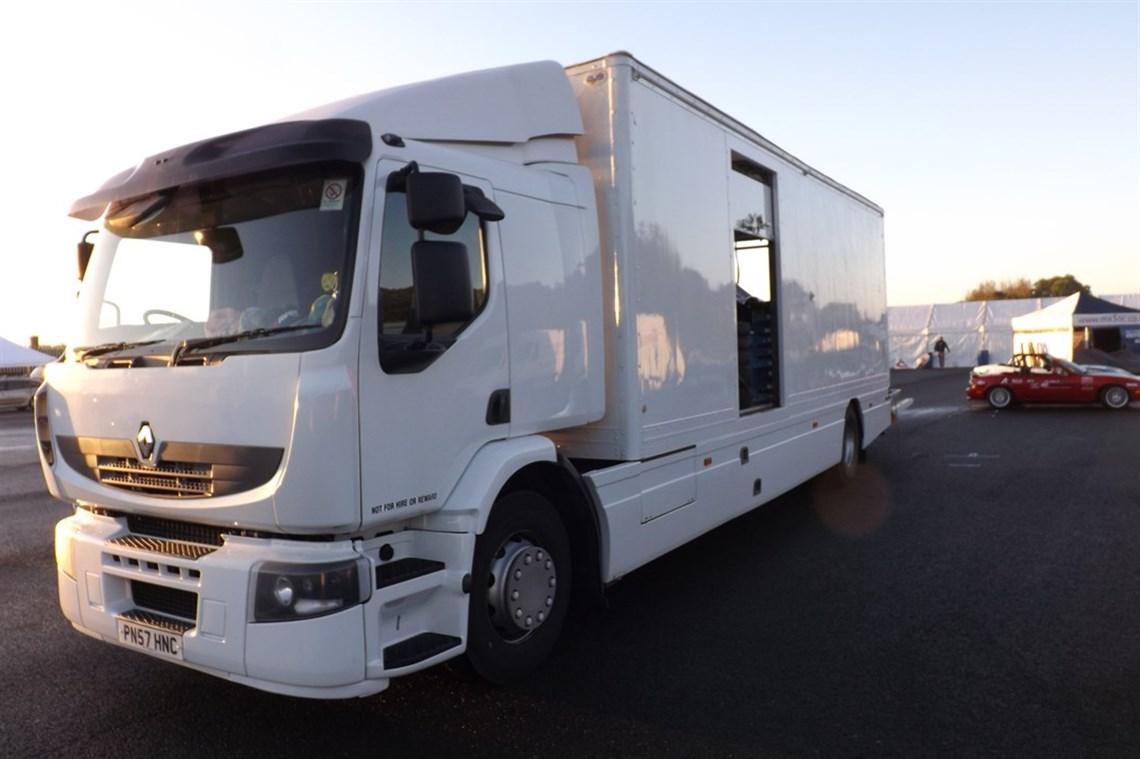 Racecarsdirect Com Renault Race Car Transporter