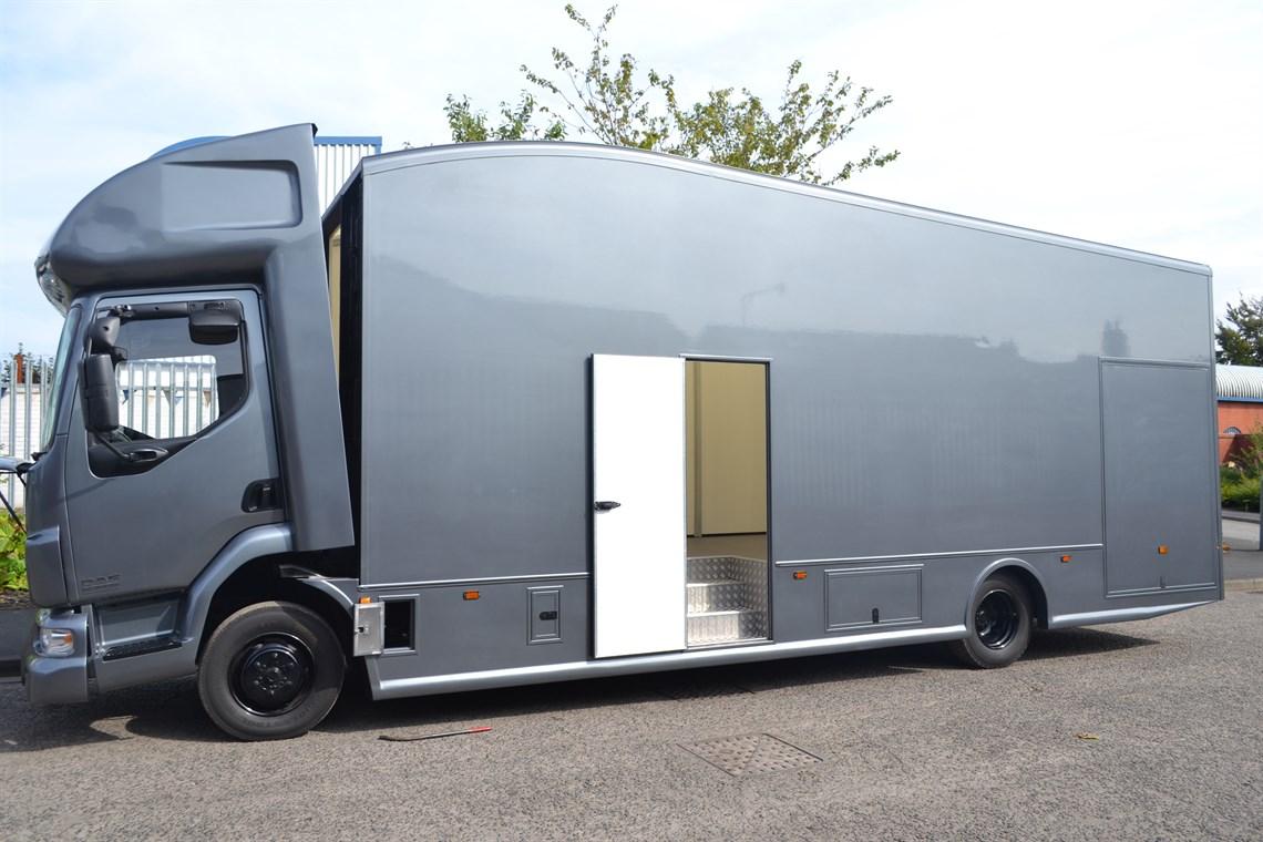 Racecarsdirect com - Newly Built Race truck / Motorhome Daf