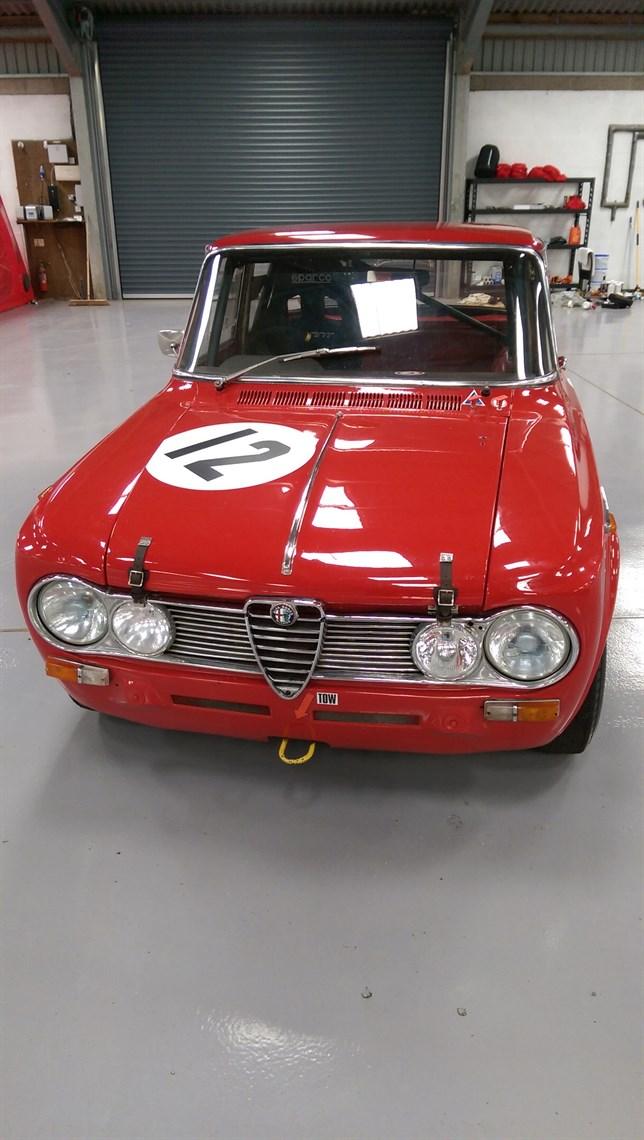1965 Alfa Romeo Giulia Super 1600 FIA