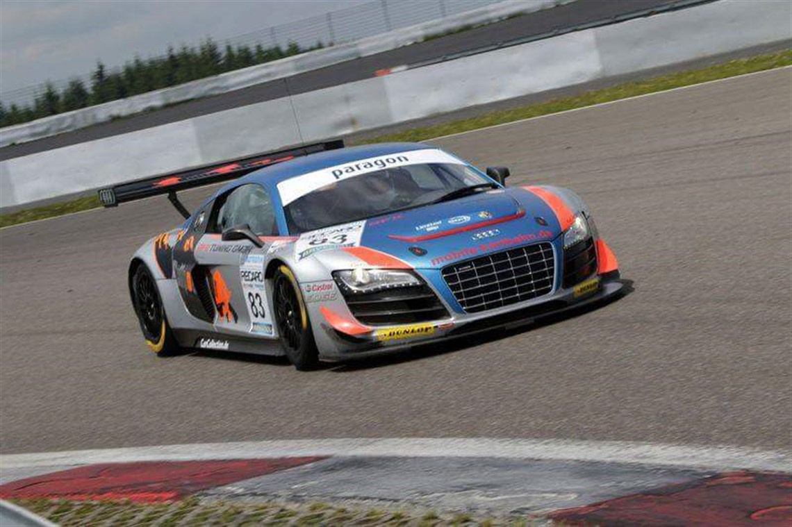 Audi r8 lms winner 24h spa 2011 collector s history sold