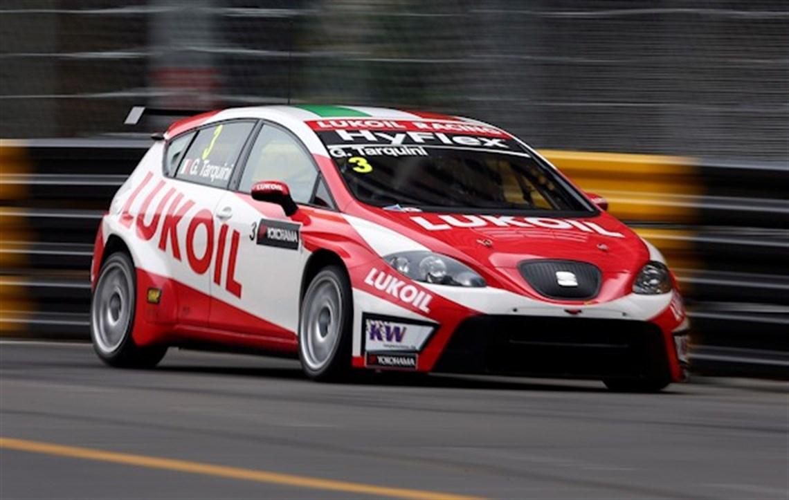 Racecarsdirect Com Seat Sport Leon Gabriele Tarquini Wtcc Btcc