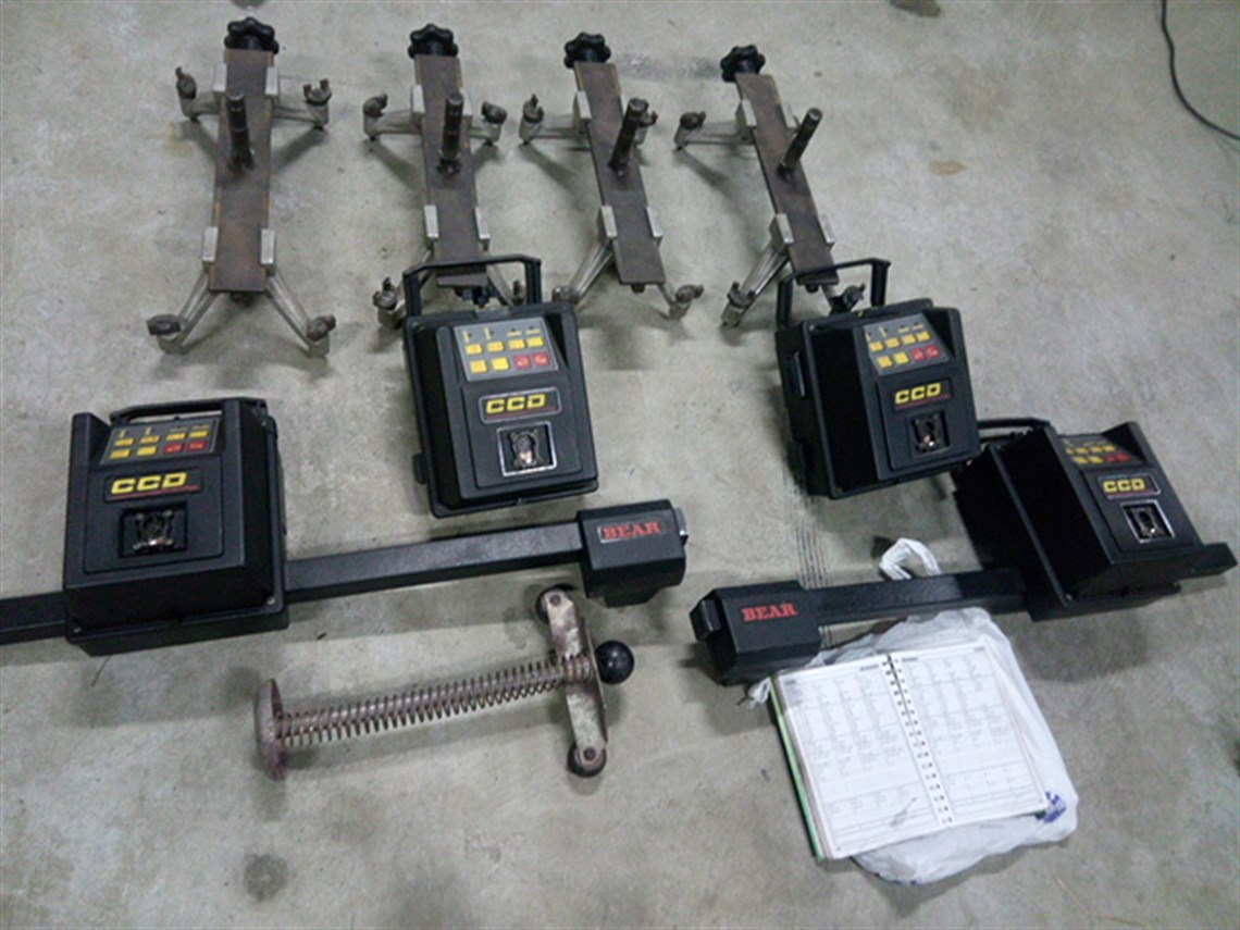 Racecarsdirect Com Bear Pace Laser 4 Wheel Alignment
