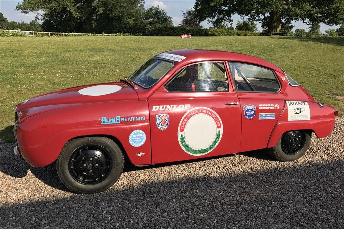 Saab 96 Sport Race Car 1965