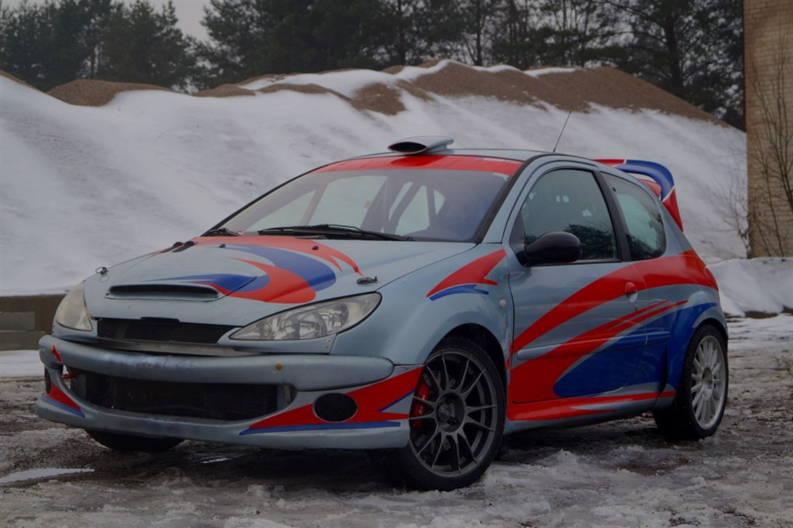 Racecarsdirect Com Peugeot 206 Rc