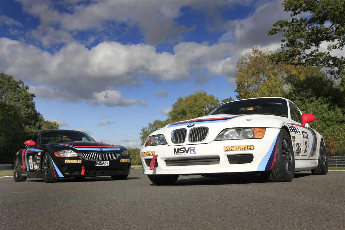 Racecarsdirectcom MSVR Z Cars Racing Series BMW Zs Zs - Sports cars that start with z
