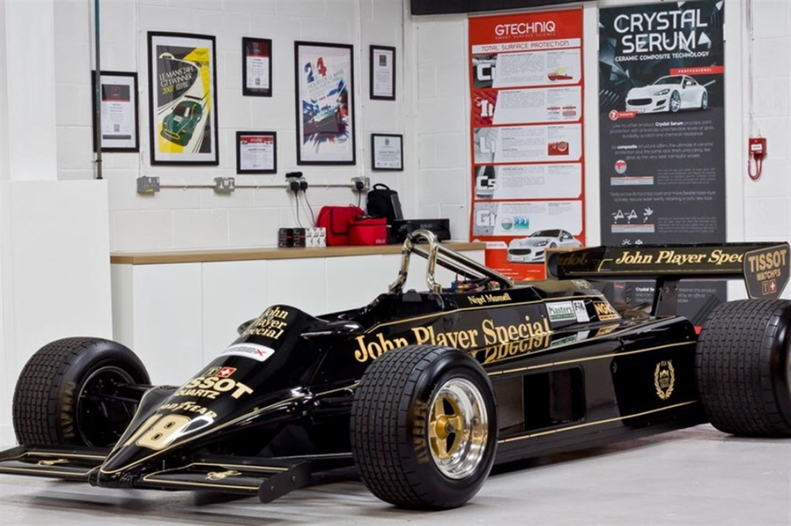 Lotus 87b   Ford Cosworth Dfv Formula F1