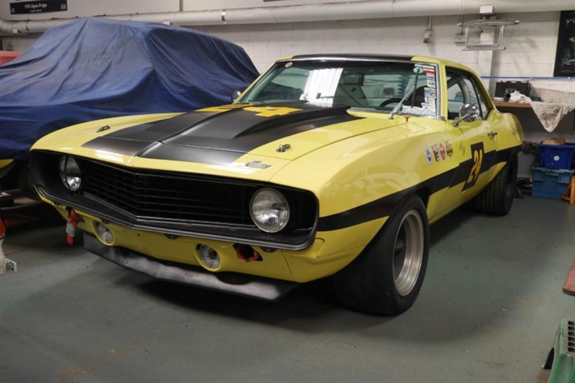 Racecarsdirect.com - 1969 Chevrolet Camaro Z28 - Trans Am (FIA ...