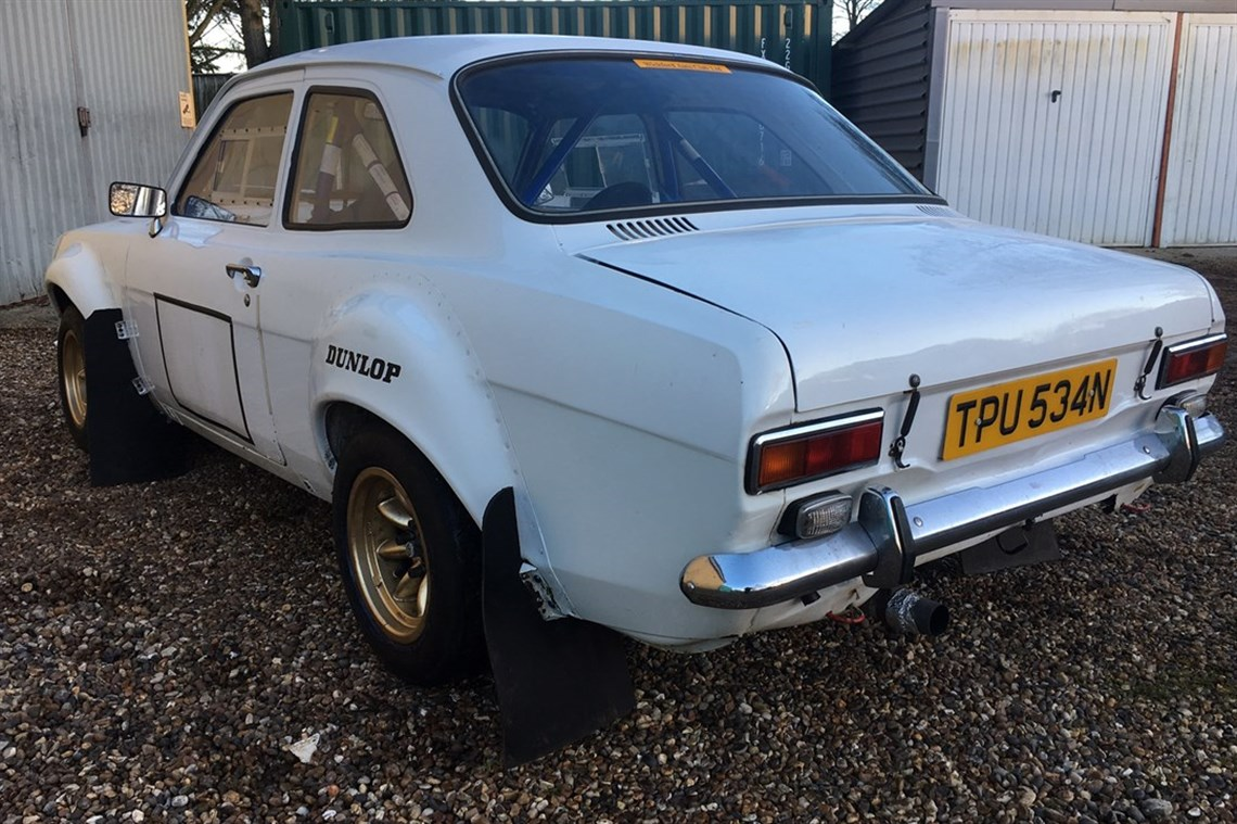 Racecarsdirect.com - 1974 Ford Escort 100 BDA MK1