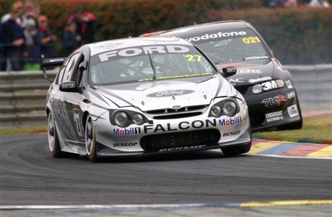 2001 Ford Falcon V8 Supercar: 2002 FALCON AU Ex. CROMPTON V8 SUPERCAR