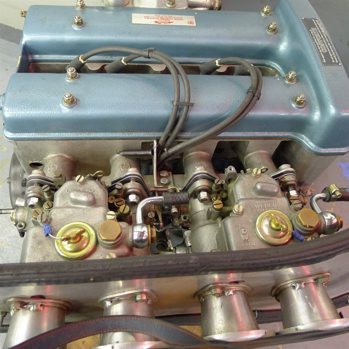 Racecarsdirect com - Lotus Twin cam 1500cc race engine