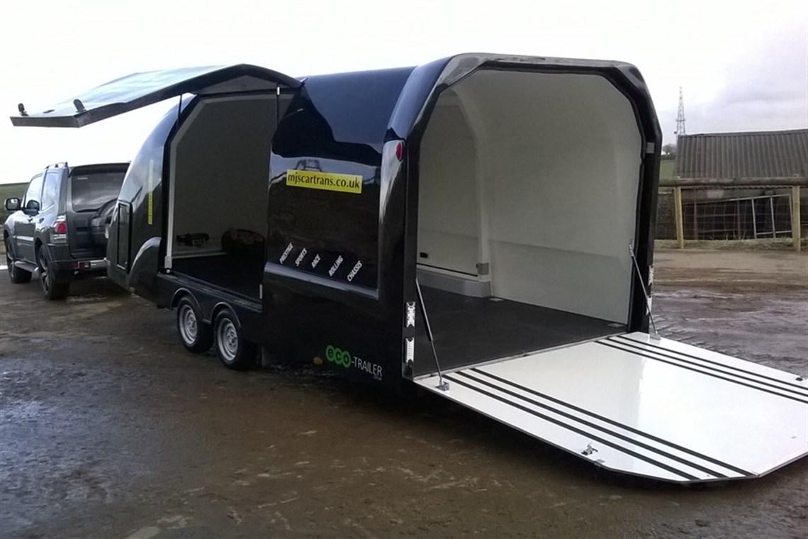 Racecarsdirect.com - enclosed race car trailer