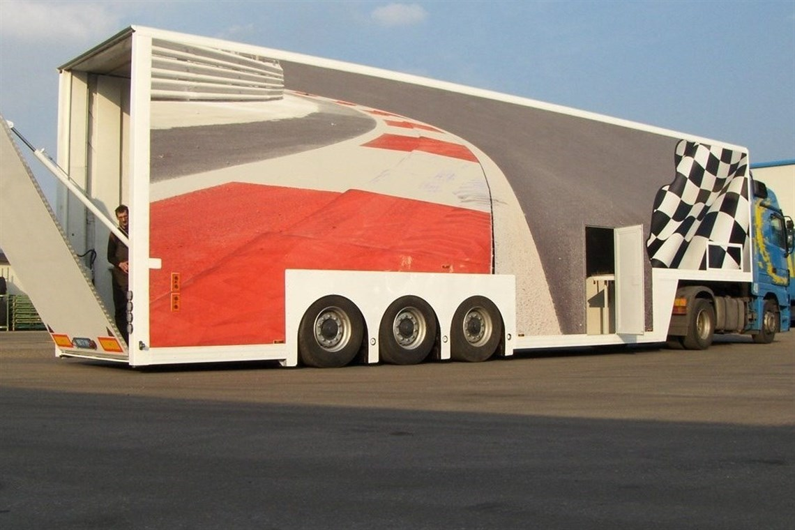 Racecarsdirect.com - Trailer for 6 CARS PLUS Equip. !!! NEW PRICE !!!