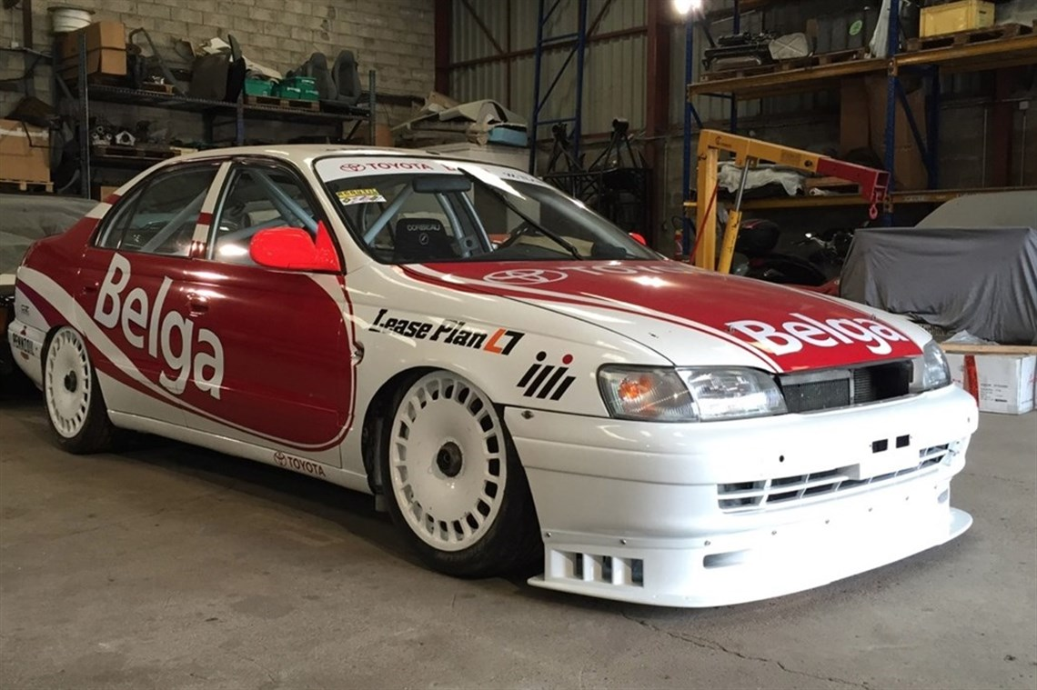 Racecarsdirect Com 1993 Toyota Carina Tom S Btcc Eligible