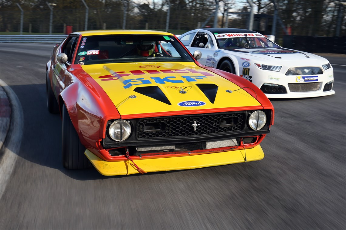 1971 Ford Mustang Mach 1 Iconic Race Car